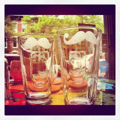 verre moustache,urban belle couture